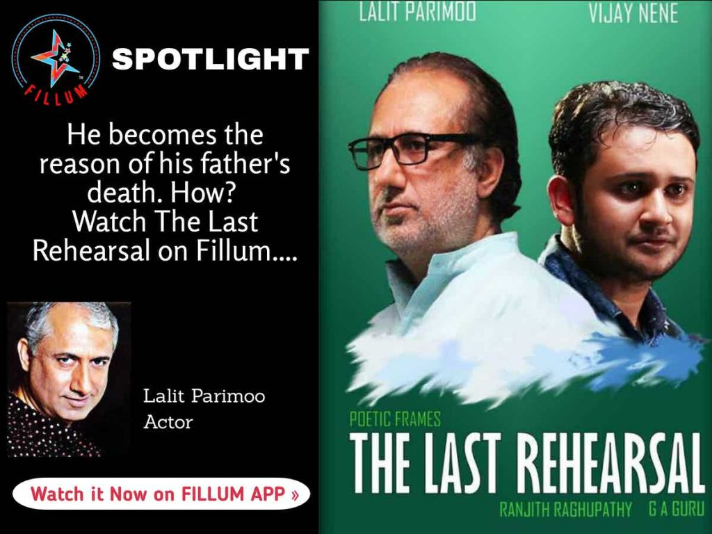 Actor Lalit Parimoo ascertains that meaningful cinema is the need of the hour